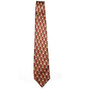 Robert Talbott Accessories - Robert Talbott Studio Geometric Silk Tie L<60 W<4